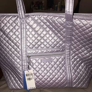 Iconic Vera Bradley Tote Bag